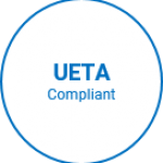 finance tools | Electronic Signatures for Financial Services UETA compliance badge
