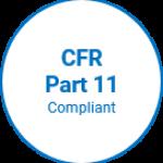 CFR Part 11 Compliance Badge