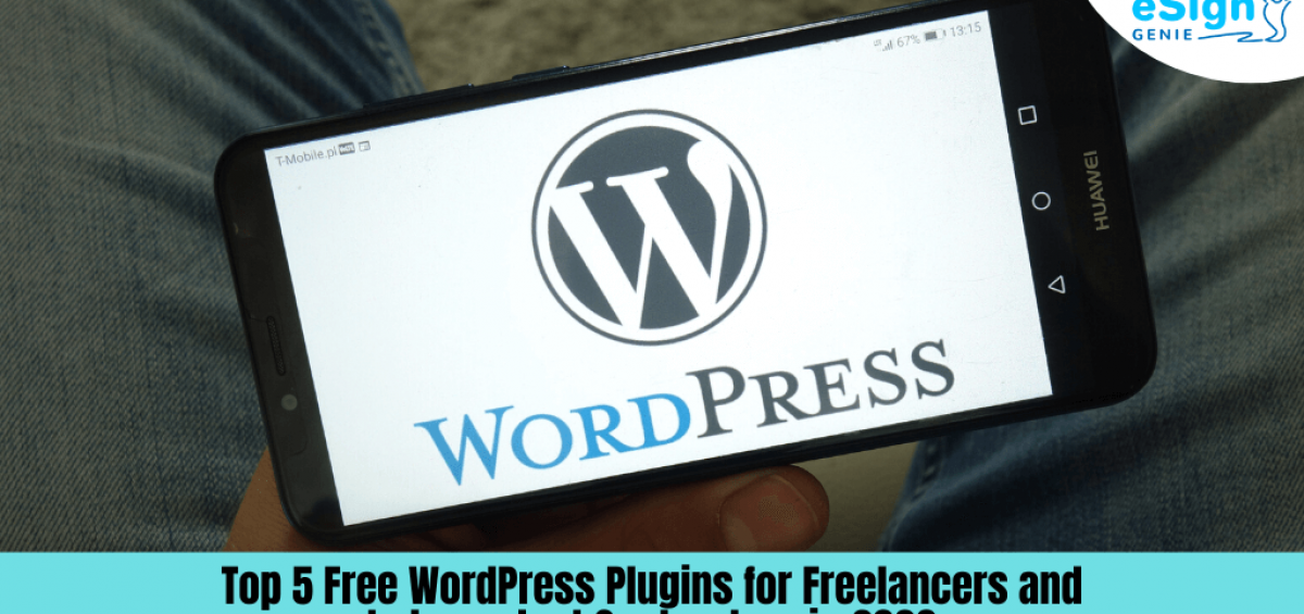 Top 5 Free Wordpress Plugins for Freelancers and Independent Contractors in 2020