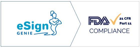 eSign Genie FDA 21 CFR Part 11 Compliance Badge