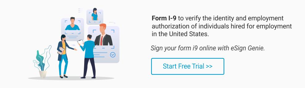 Form I-9 Start Free Trial