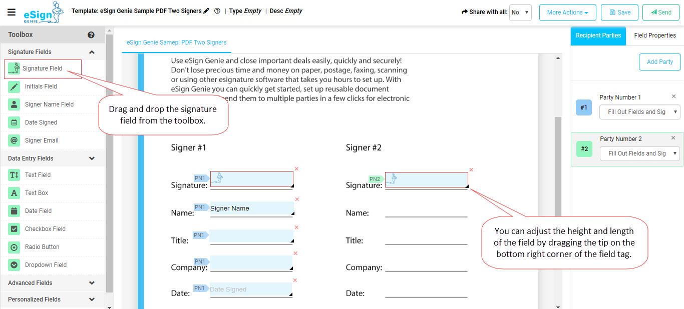 Reusable PDF Document Templates 6th image