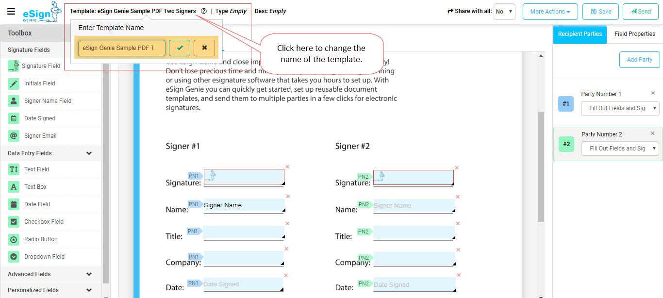Reusable PDF Document Templates 3rd image