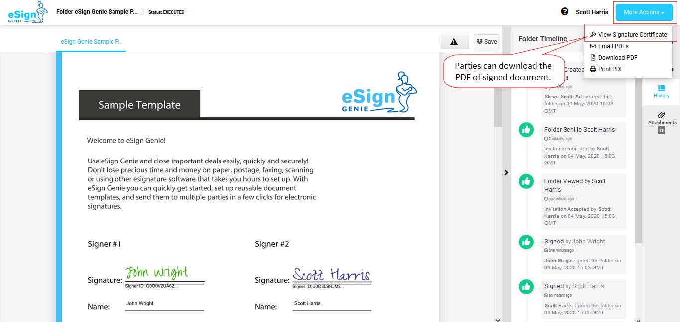 Capture eSignatures page image first