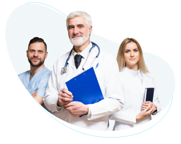 Image showing healthcare workers. Enable a HIPAA Compliant Electronic Signature Solution with eSign Genie and generate HIPAA electronic signatures quickly and easily   HIPAA Compliant Electronic Signature Solution