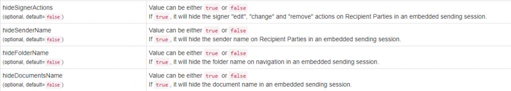 New-hide-parameter-api