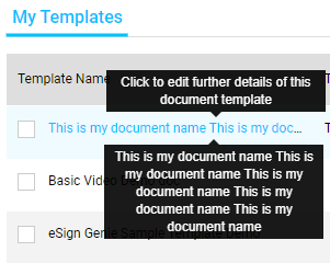 Template-name-hovering