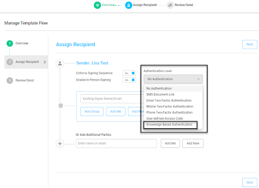 manage template flow image